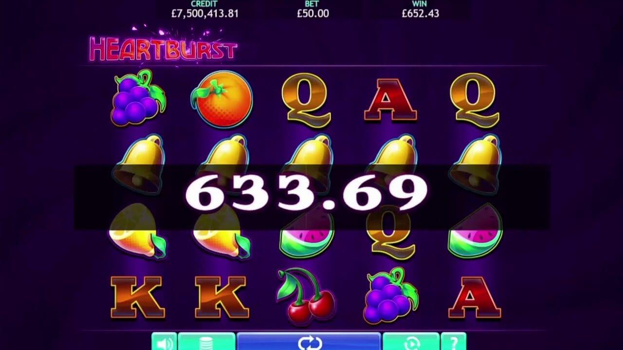 Heartburst Slot Bonus