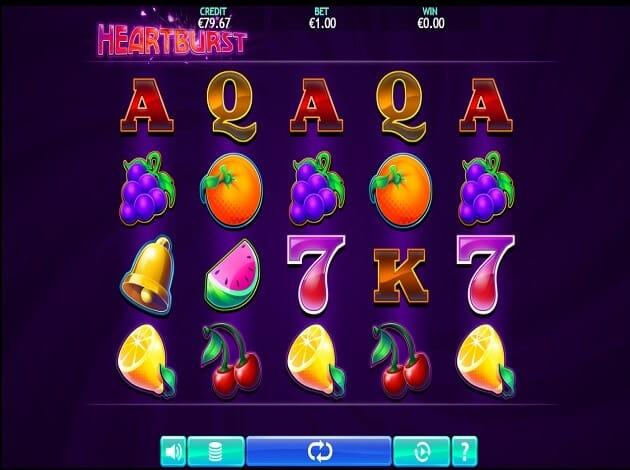 Heartburst Slot Gameplay