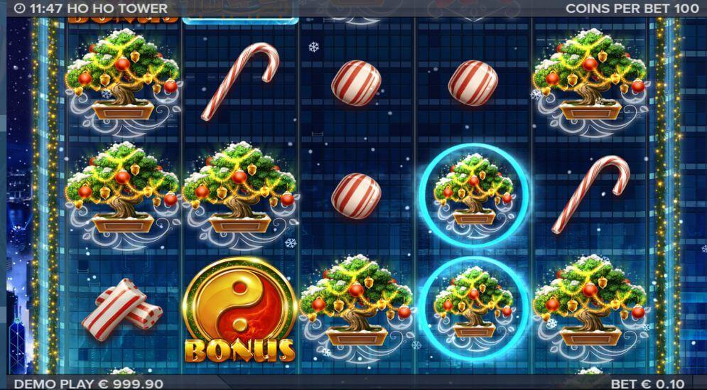 Ho Ho Tower Slot Bonus