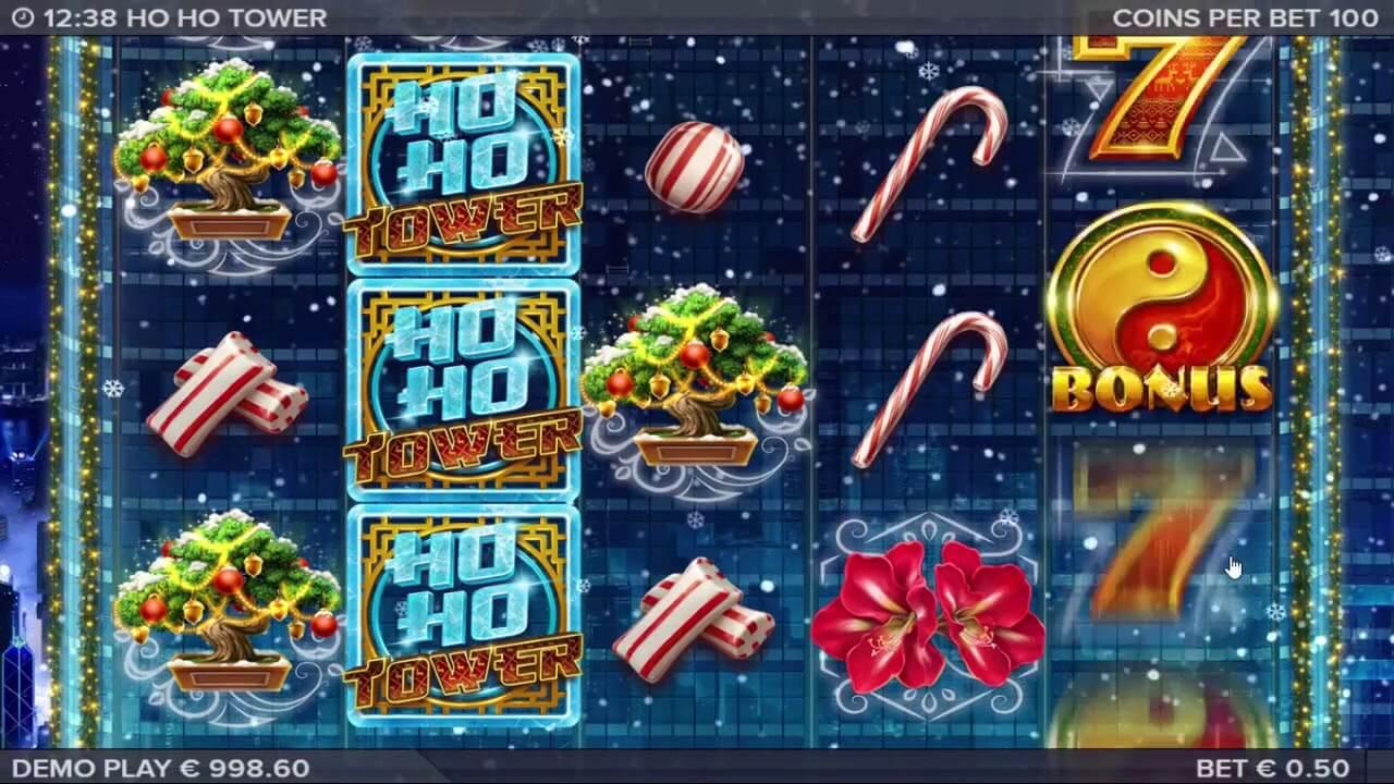 Ho Ho Tower Slot Gameplay