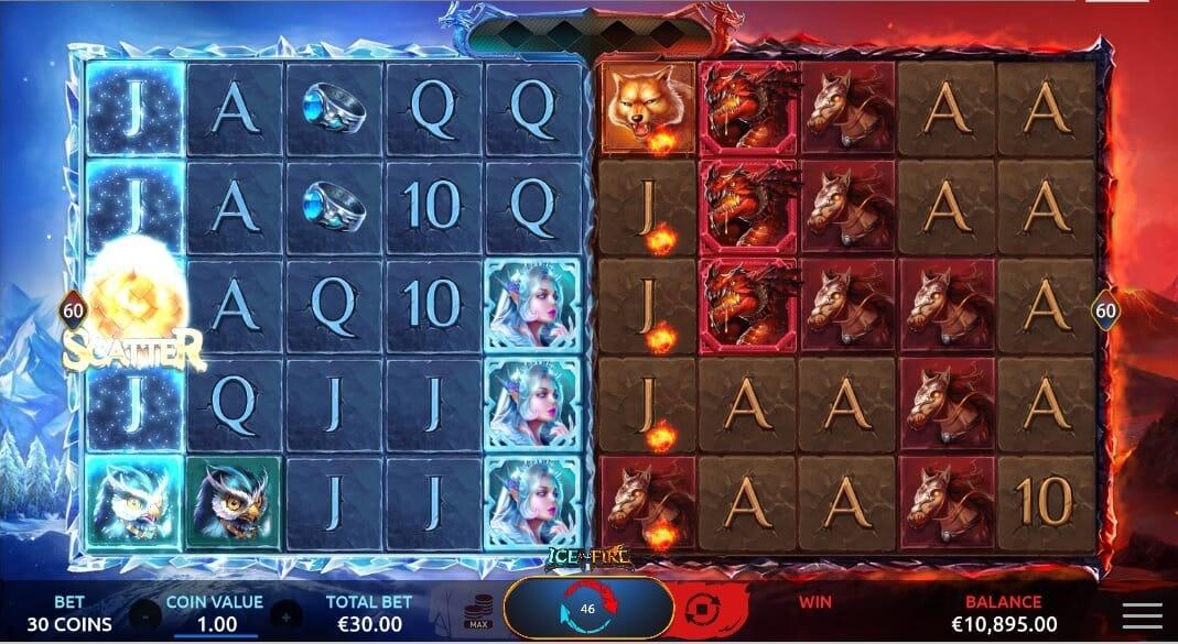 Ice and Fire Slot Bonus