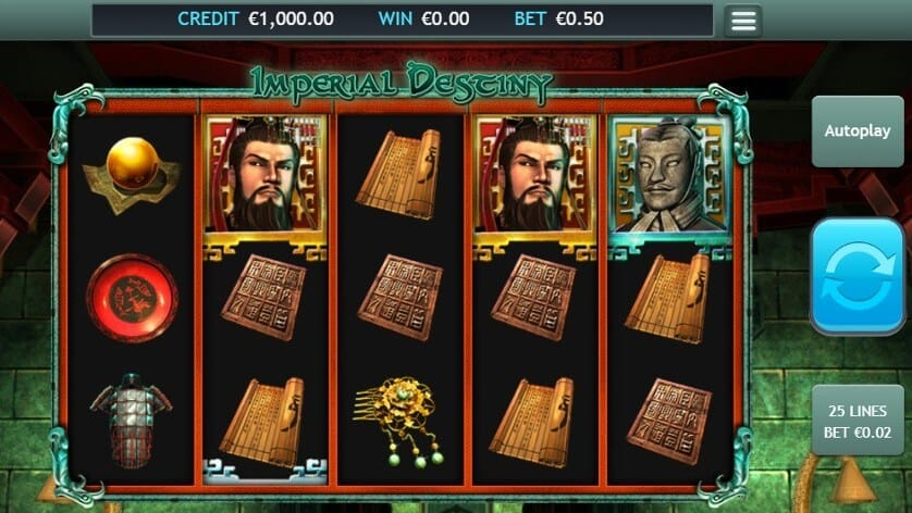 Imperial Destiny Slot Gameplay