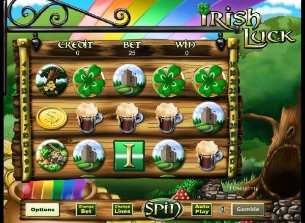 Irish Luck Jackpot Slot Image