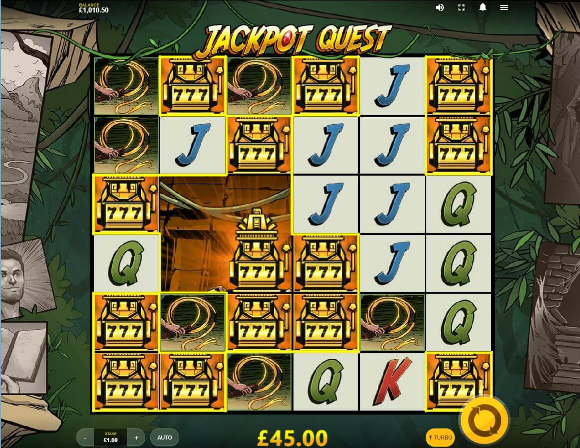 Jackpot Quest Gameplay