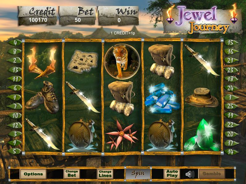 Jewel Journey Slot Gameplay