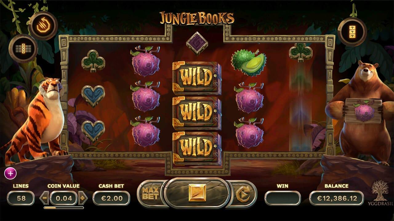 Jungle Books Slot Bonus