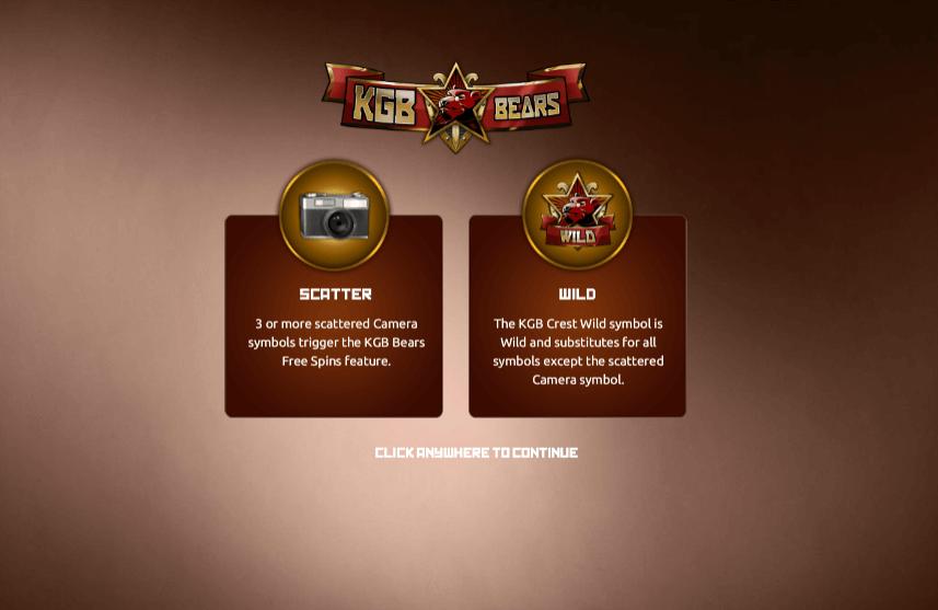 KGB Bears Slot Bonus