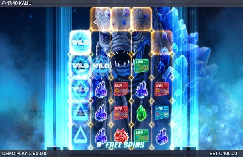 Kaiju Slot Bonus