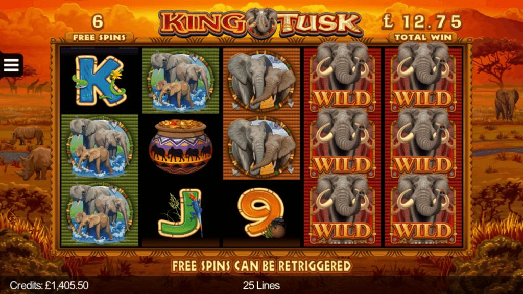 King Tusk Slot Bonus