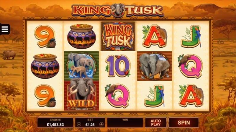 King Tusk Slot Gameplay