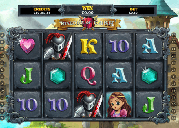 Kingdom of Cash Slot Gameplay
