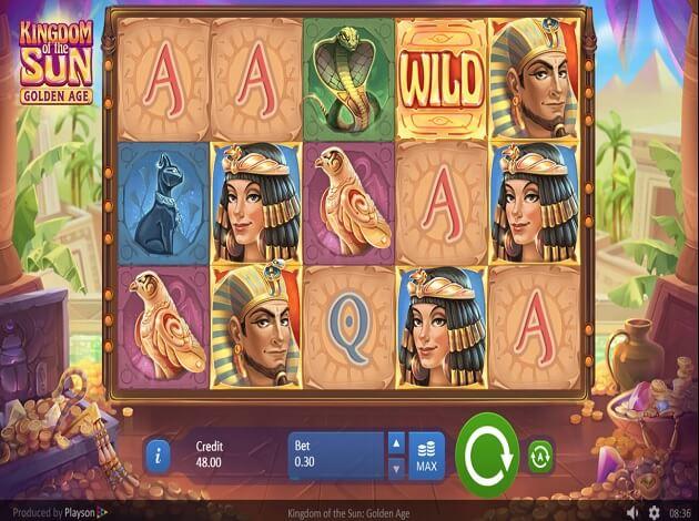 Kingdom of the Sun Slot Gameplay