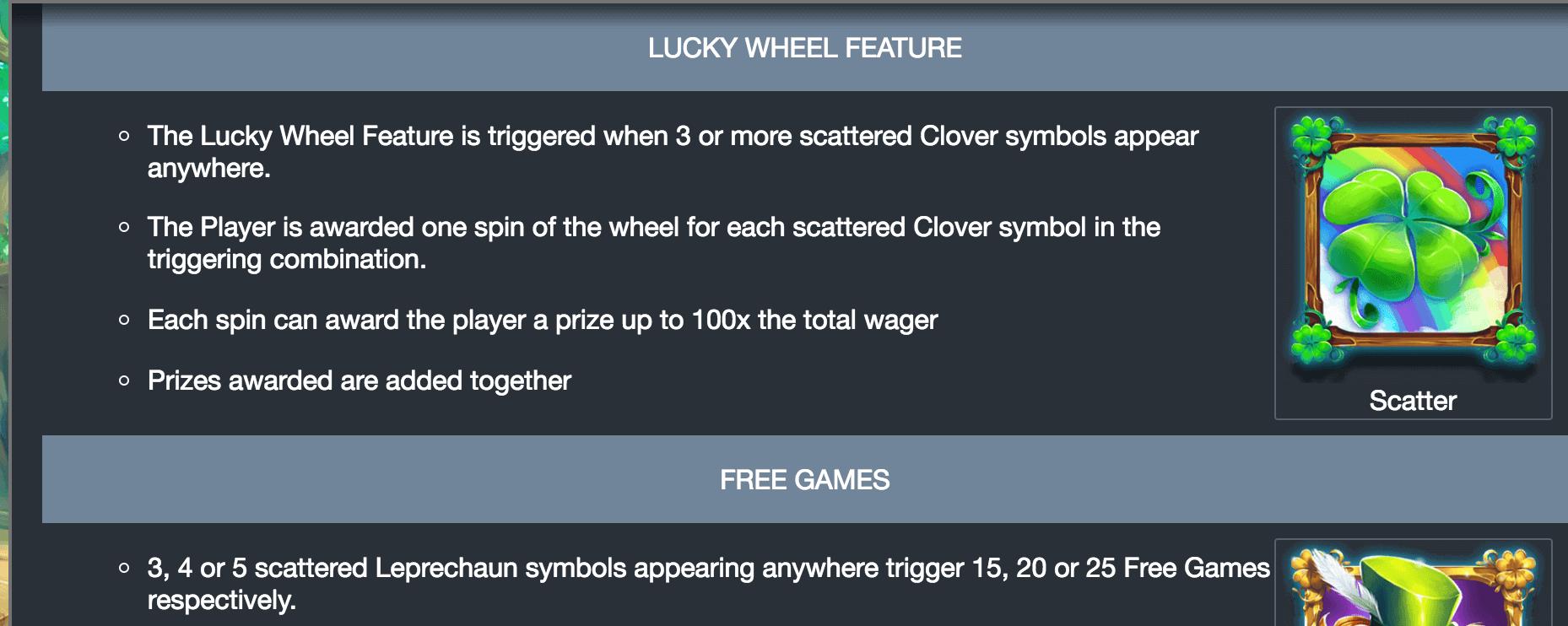Kiss Me Clover Slot Bonus