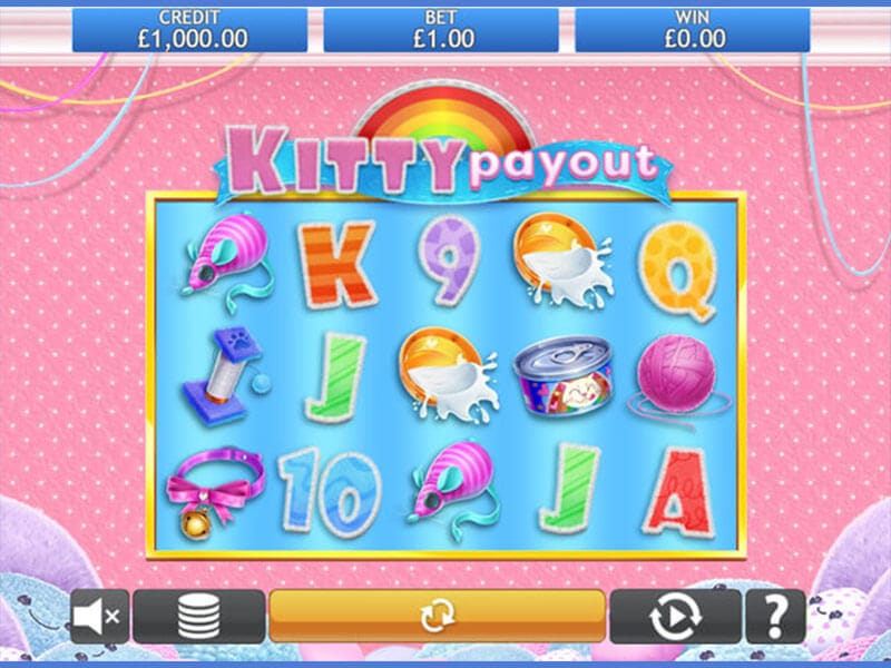 Kitty Payout Slot Gameplay