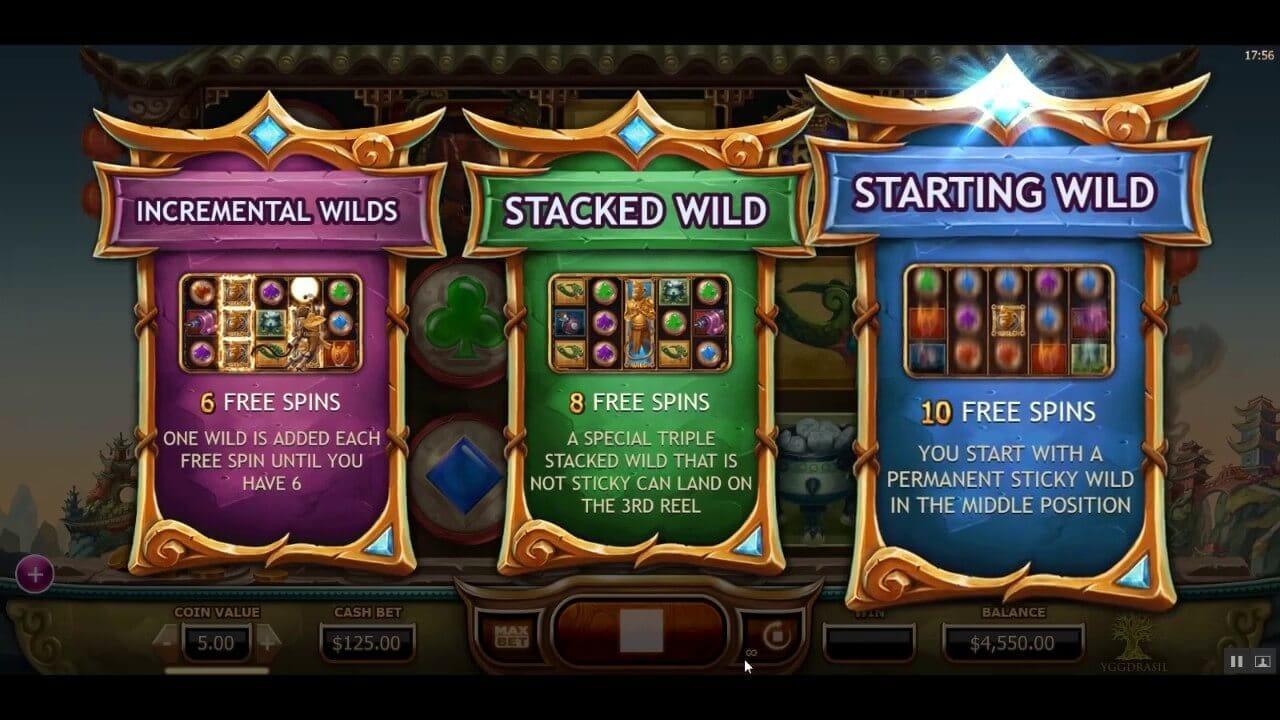 Legend of the Golden Monkey Slot Bonus