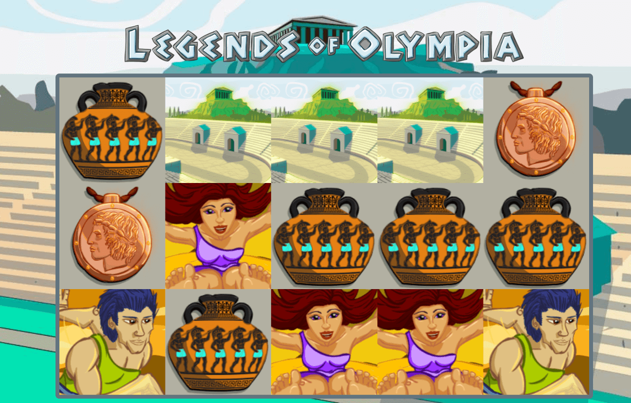 Legends of Olympia Slot Gameplay