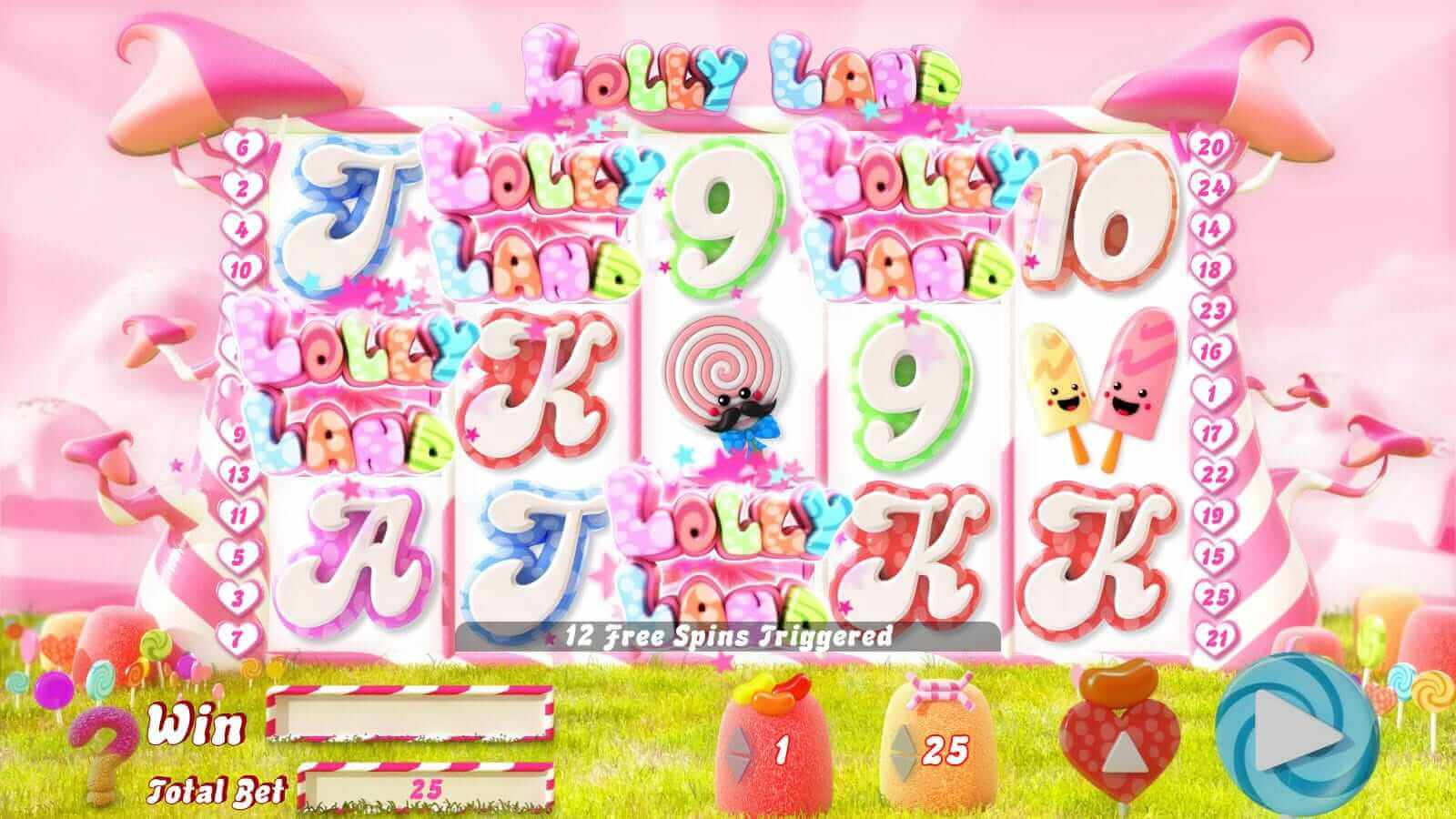 Lolly Land Slot Bonus