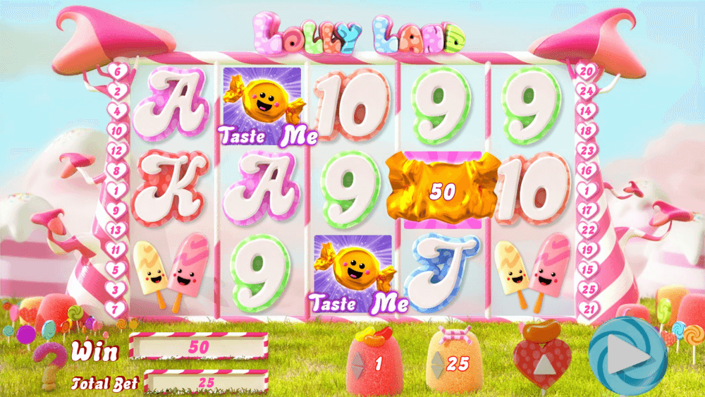 Lolly Land Slot Gameplay