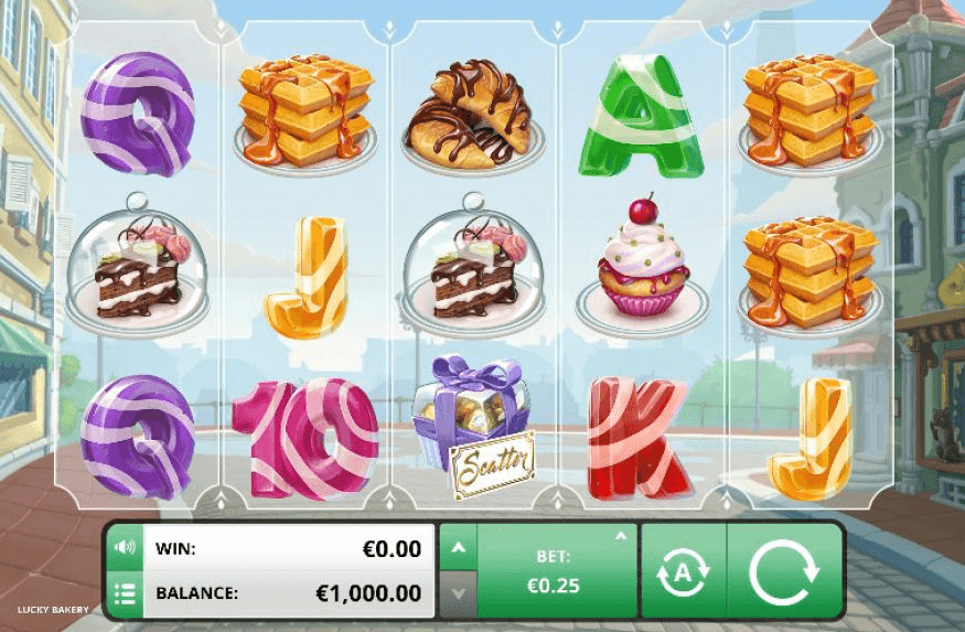 Lucky Bakery Slot Bonus