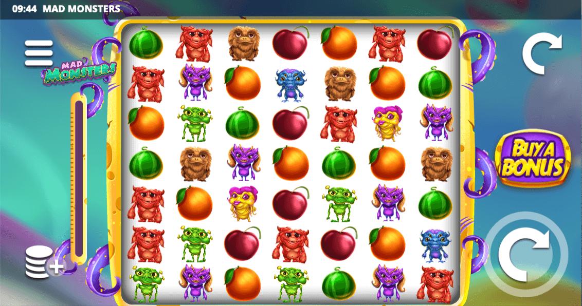 Mad Monsters Slot Bonus