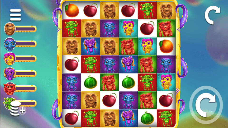 Mad Monsters Slot Gameplay