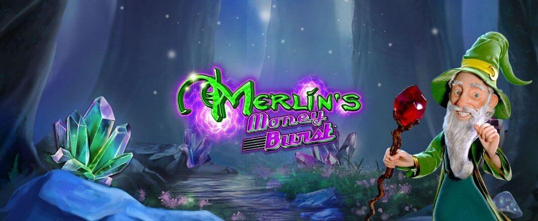 Merlins Money Burst Video Slot Banner