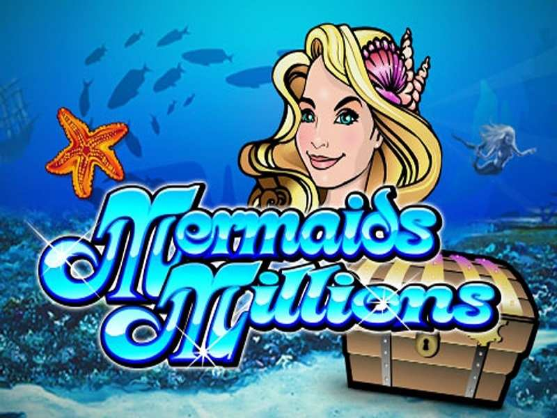 Mermaid Millions slot logo