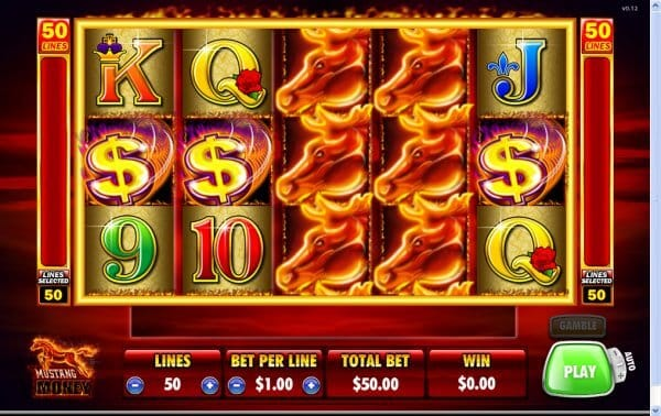 Mustang Money Slot Bonus