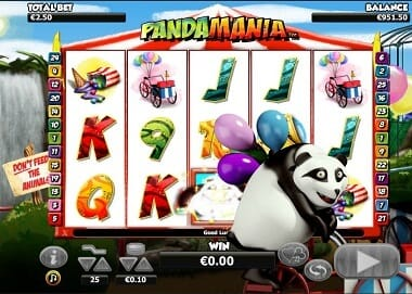 Pandamania Slot Gameplay