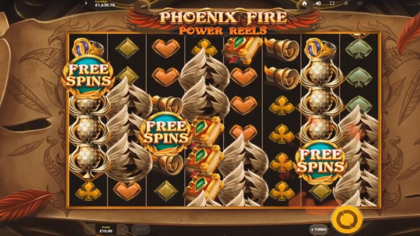 Phoenix Fire Power Reels Slot Bonus