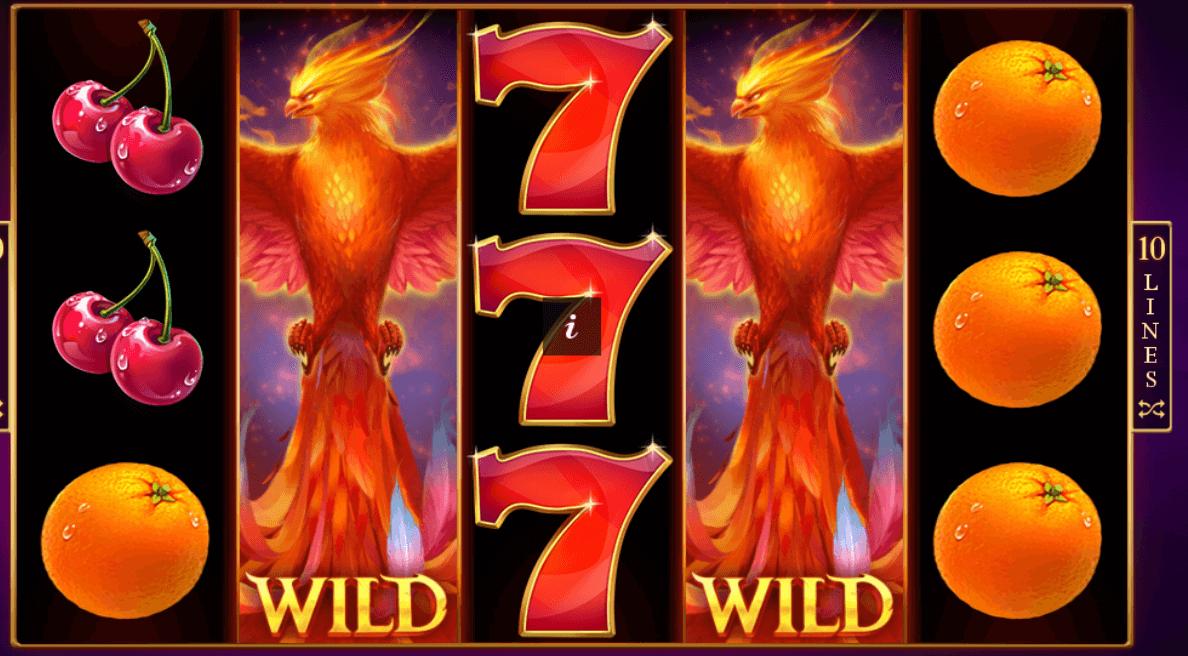 Phoenix Fire Slot Gameplay