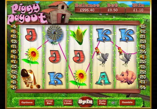 Piggy Payout Jackpot Slot Gameplay