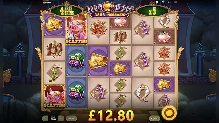 piggy riches megaways casino game