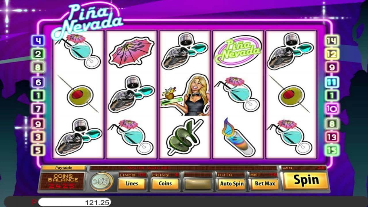 Pina Nevada Slot Bonus
