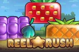 Reel Rush Casino Slot Logo
