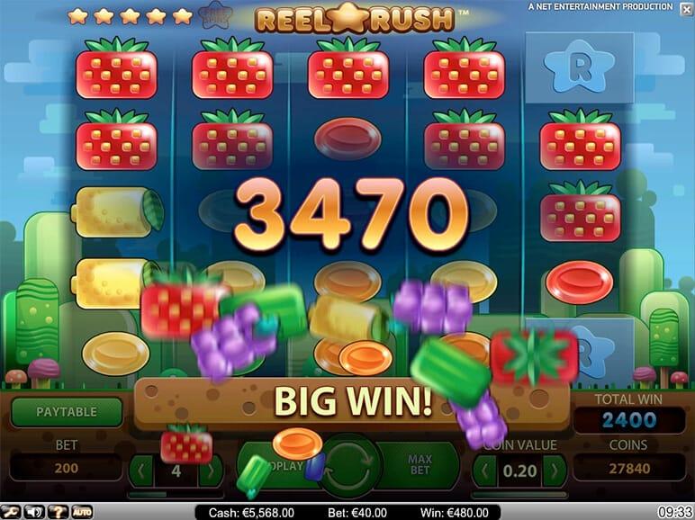 Reel Rush Game Play - Online Slots