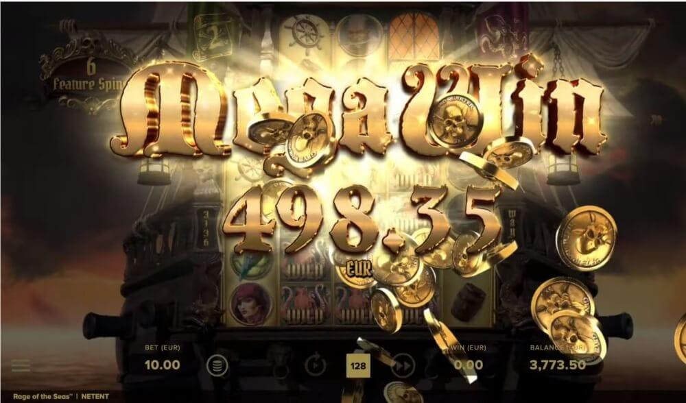 Rage of the Seas Slot Bonus