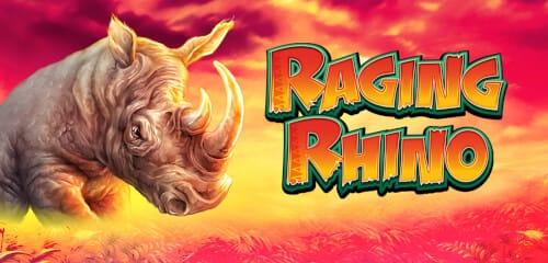 Raging Rhino Online Slot Banner