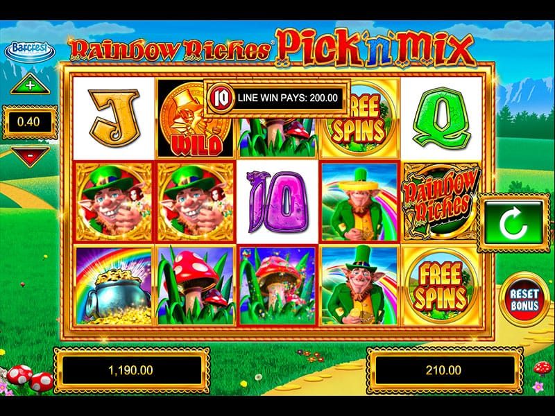 Rainbow Riches Pick n Mix Gameplay