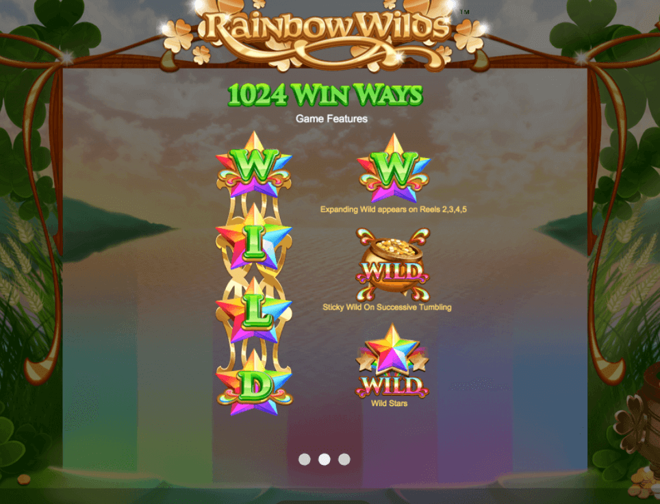 Rainbow Wilds Bonus