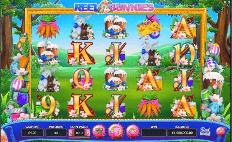 Reel Bunnies Slot Gameplay