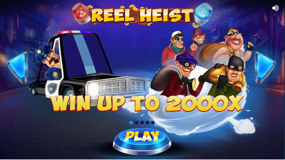 Reel Heist Slot Bonus