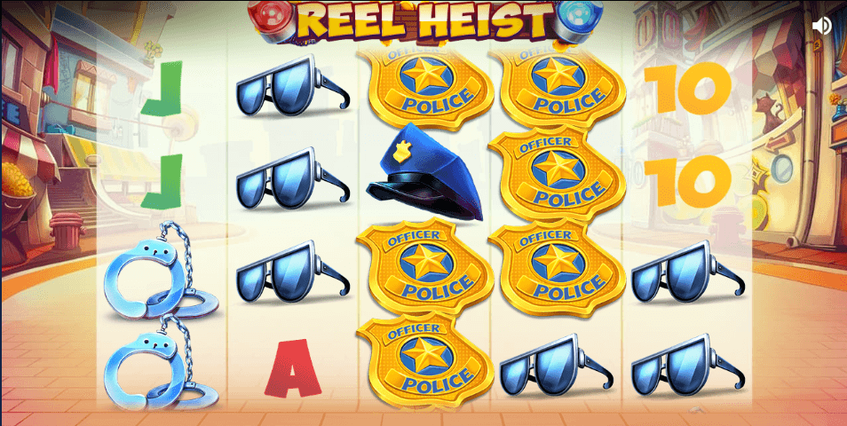 Reel Heist Slot Gameplay