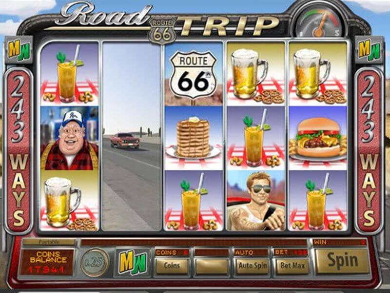Road Trip Slot Bonus