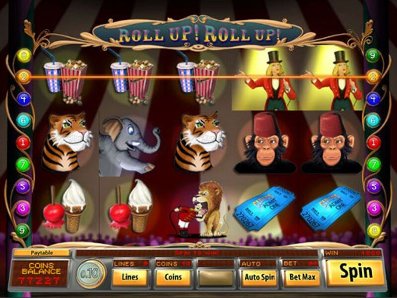 Roll Up Roll Up Slot Gameplay