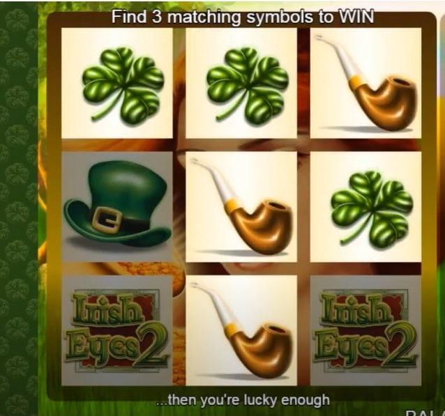 Scratch Irish Eyes 2 Bonus Feature