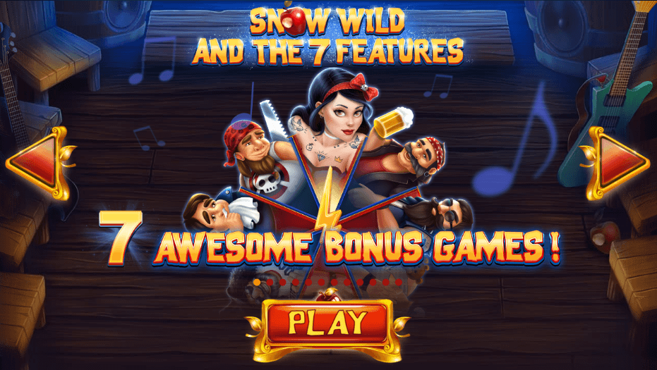 Snow Wild and the Seven Features Slot Bonus