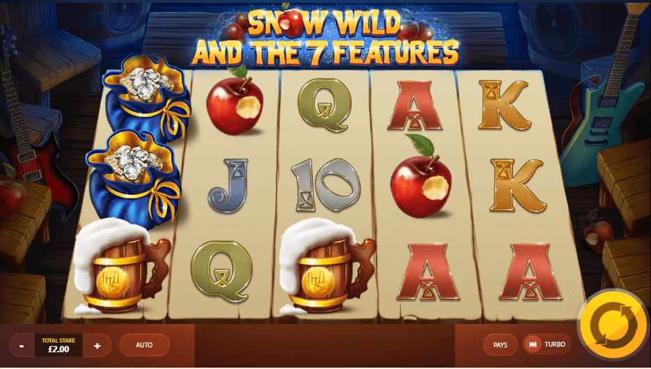Snow Wild and the Seven Features Slot Gameplay