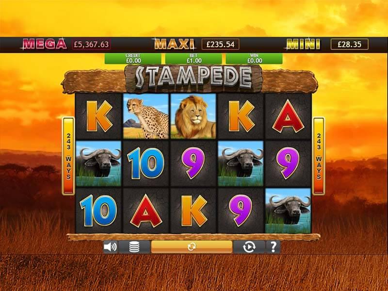 Stampede Jackpot Slot Bonus