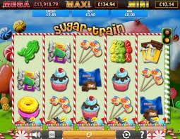 Sugar Train Jackpot Slot Bonus